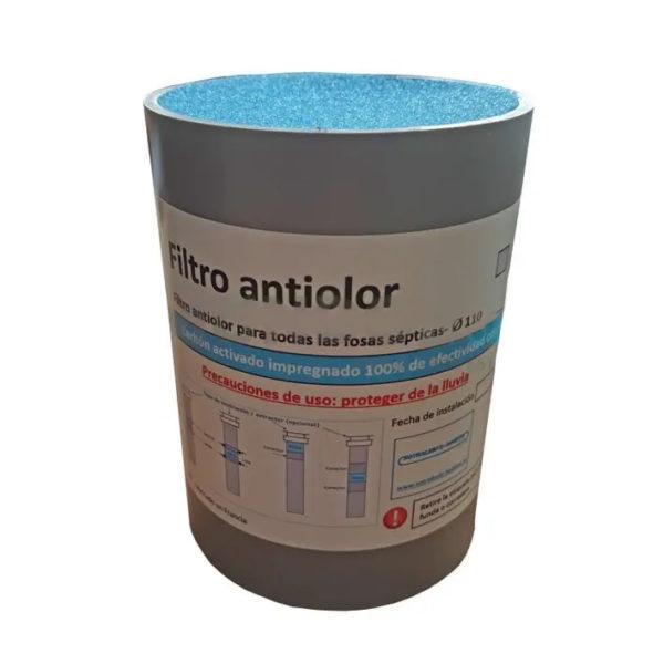 filtro antiolor fosa septica